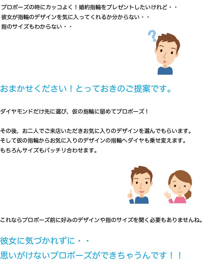 プロポーズ応援企画概要