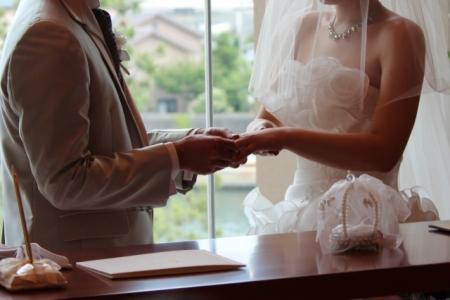 挙式の前に結婚指輪を購入