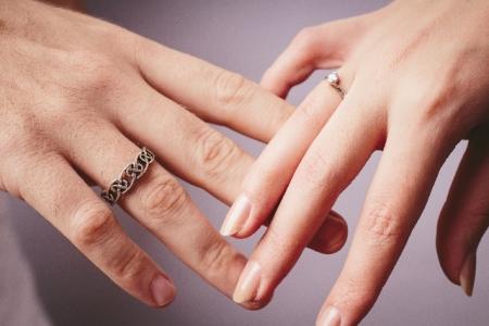 ファッションリングと結婚指輪