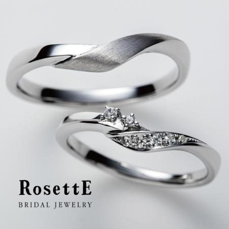 RosettE~つるバラ~結婚指輪
