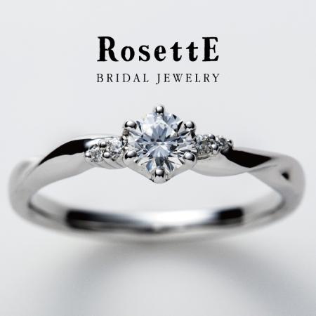 RosettE~つるバラ~婚約指輪