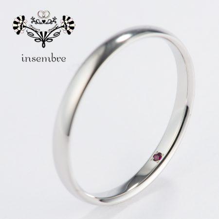 柏のリーズナブルな結婚指輪 インセンブレ